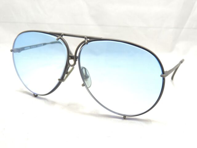 cd8b9f972d8 Vintage 80s Porsche Design Carrera Sunglasses Aviator 5623 Austria ...