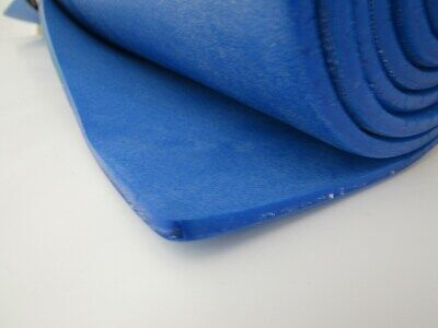 sound proofing /& heat insulation sheet closed cell foam size 2mx1m x 3mm BLUE
