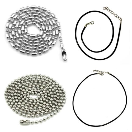 Collar cadena de acero inoxidable bala cadena cadena de acero para remolque joyas