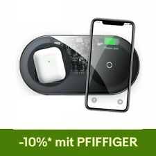 Baseus 2in1 15W Wireless Charger Schnell Ladegerät  Ladestation für Apple Iphone