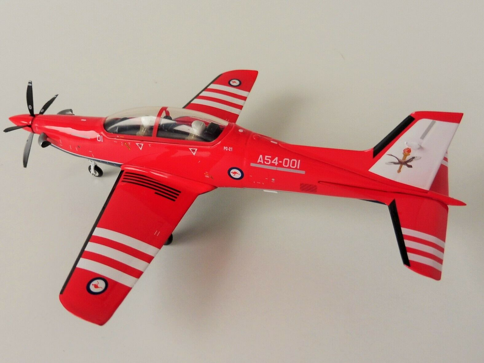 Pilatos pc-21 Royal Australian Air Force 1 72 Herpa 580342 Training School