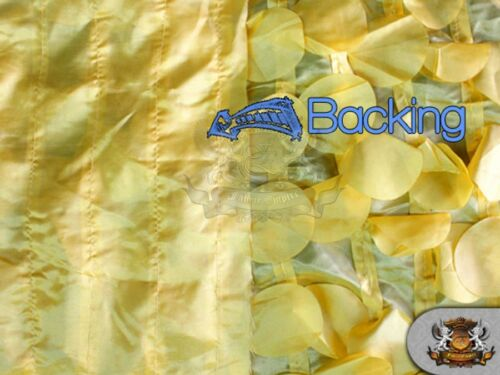 "54/"" WIDE TAFFETA ROUND PETAL FABRICS SOLD BY THE YARD"