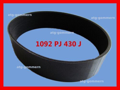 PJ1092 Poly-V Riemen Flachriemen Keilrippenriemen PJ 1092 430J