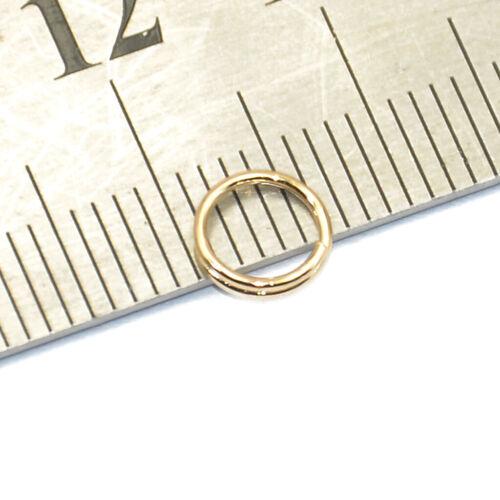 200 Stück Dopple Spaltringe Binderinge Flachschlüssel 0.6 x 6 mm Gold