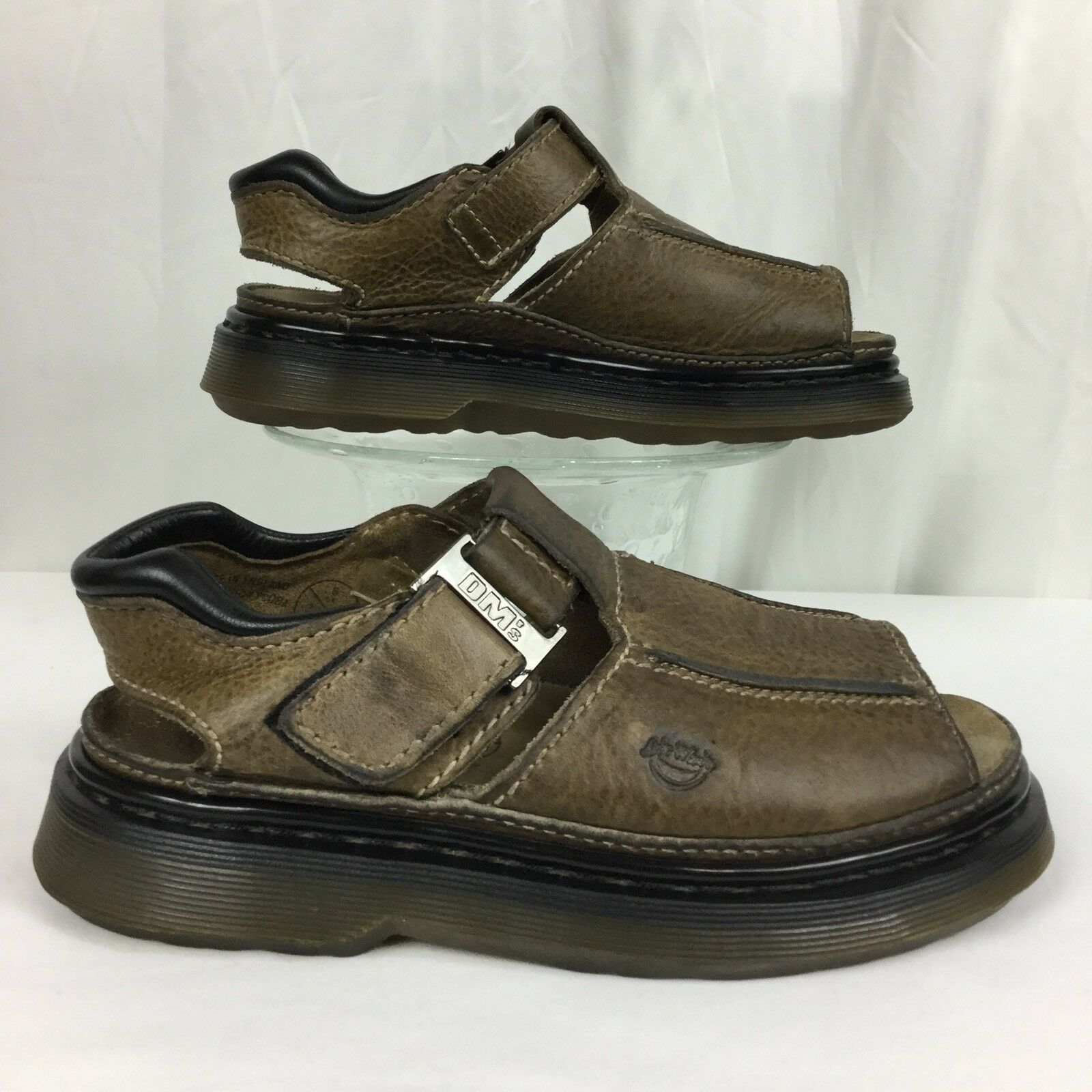 DR MARTENS ENGLAND Air Wair gaucho sandal slide shoe women's 7   uk5 eu38 m6