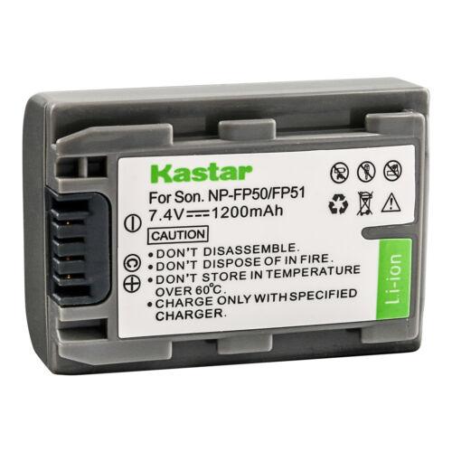 TRV Kastar Batería FP51 Para Sony NP-FP51 NP-FP30 TRV-U NP-FP50