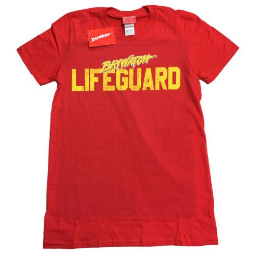 Baywatch Lifeguard OFFICIAL Fancy Dress Zac Effron The Rock T-Shirt to XXL