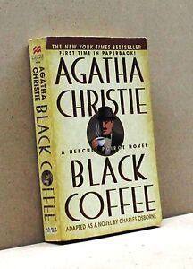 BLACK-COFFEE-A-Christie-Libro
