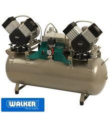 Dentalkompressor EKOM DK50 2x2V/110/MD mit Trockner - in Laborqualität - NEU