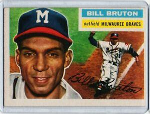1956-Topps-Set-Break-185-Bill-Bruton-EXMINT