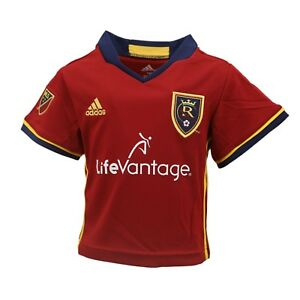 purchase cheap 1293a 62b23 Details about Real Salt Lake Official MLS Adidas Baby Infant Size Athletic  Jersey New Tags