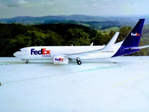 JC-Wings 1:200 JC2271 1//200 FEDEX WEST ATLANTIC B737-800BCF /& Herpa Wings Katalo