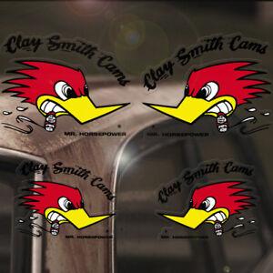 4x-Stueck-Mr-Horsepower-Sticker-Original-Aufkleber-Set-Woodpecker-Rat-Hot-Rod