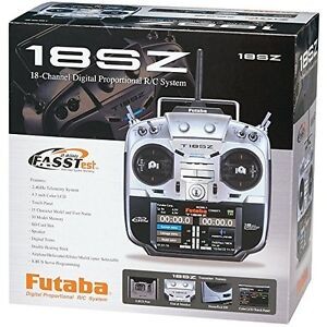 Futaba 18SZA 18SZ 18 Channel RC Remote Control Airplane Radio System W/ R7008SB