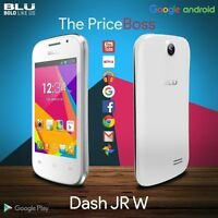 Blu Dash Jr W D141w 3.5 2g Android Dual Sim Unlocked Gsm Smart Phone White