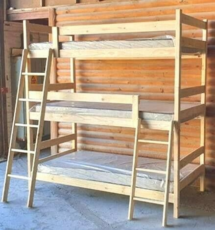 TRIPLE BUNK BED (3 beds) at factory prices