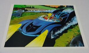 Vintage-original-1978-Batman-Robin-Batmobile-DC-Detective-Comics-poster-1-1970-039-s