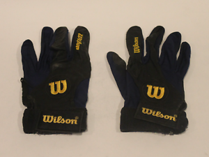Unknown MLB player game used worn batting gloves! Vintage! Guaranteed Authentic!