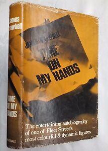 JAMES-DRAWBELL-TIME-ON-MY-HANDS-1ST-1ST-H-B-D-J-1968-FLEET-STREET-JOURNALIST