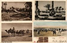 LIBYA LIBIA AFRICA 9 Vintage Postcard