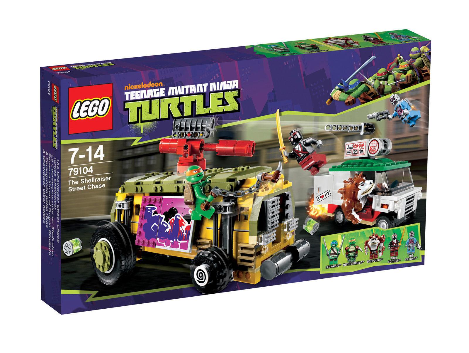 LEGO Teenage Mutant Ninja Turtles Turtles Shellraiser (79104) NEU UND OVP