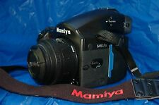 Mamiya 645 AFD Medium Format Digital Camera, 80mm F2.8 AF Lens & 120/220 Back