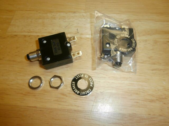 Philmore 15 Amp Push Button Circuit Breaker 32v DC or 250v AC Fuse for sale online