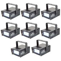8 Chauvet Dj Ch730 Adjustable 1-12 Flash/sec Mini Strobe Led Club Light Effects on sale