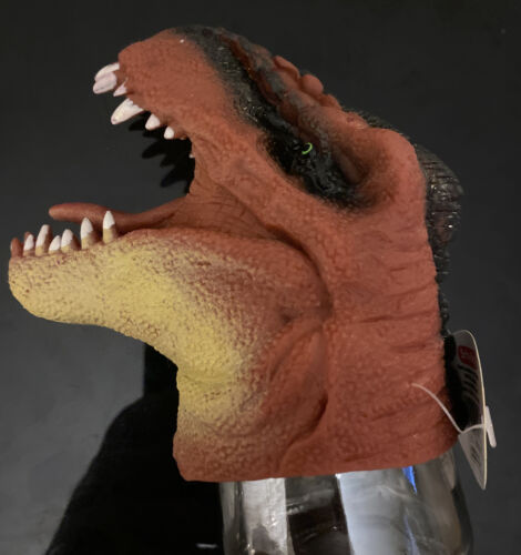 DINO PUPPETS T-Rex Dinosaur Hand Puppet * New Red * Ages 3