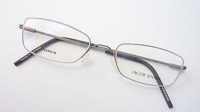 100% QualitäT Katzenauge Fassung Brille Schmale Glasform Grau Matt Titan Gestell Size M Krankheiten Zu Verhindern Und Zu Heilen