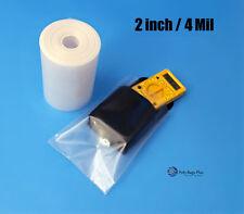 50 200 Ft Clear 2 4mil Poly Tubing For Impulse Heat Sealer Bags Food Safe Fda