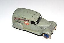 Dinky Toys Grey Pre War Type 2 Palethorpes 28 Series Delivery Van # 28F RARE !!