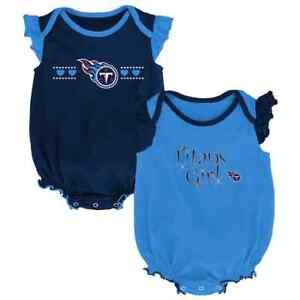 new concept 7a29a 7cfaf Details about ($30) Tennessee Titans nfl INFANT BABY NEWBORN Jersey Shirt  12M 12 Months