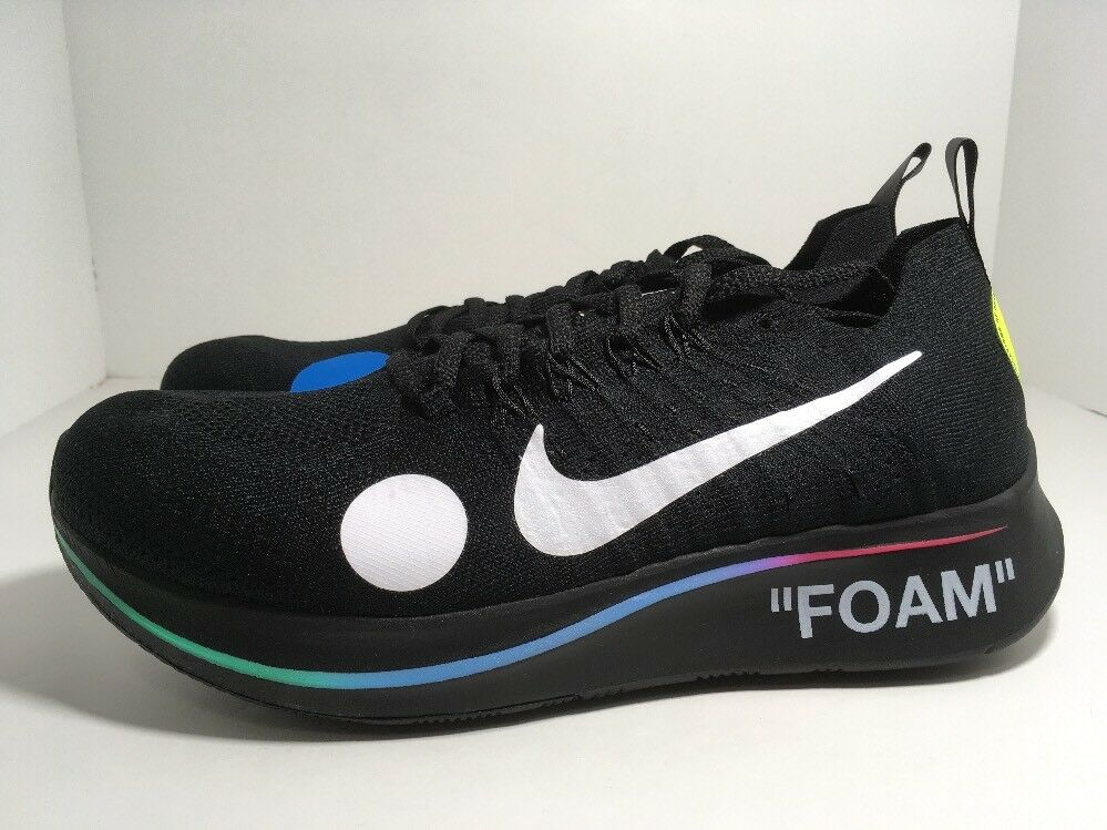 Nike Zoom Fly Mercurial Flyknit x OFF-WHITE AO2115-001 Men's shoes Size 10.5