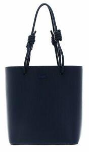 LACOSTE Chantaco Vertical Shopping Bag Schultertasche Tasche Eclipse Blau Neu