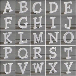 Wooden Letters Wood Alphabet Words Free Standing Bridal Wedding Party Home Decor Ebay
