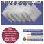 100-Mens-Cotton-Handkerchiefs-Large-Gents-King-Size-White-Dark-Color-Lot thumbnail 6