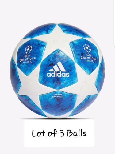 LOT OF 3 ADIDAS UEFA CHAMPIONS LEAGUE Adidas OMB 2018-19 with original box