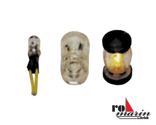 romarin by Krick Rundumlampe 7,5x9 mm transparent ro1646 2 Stück