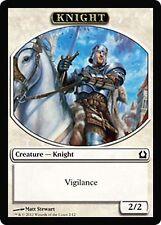 x100 2/2 White Vigilance Knight Token  NM RtR Return to Ravnica MTG  #2/12