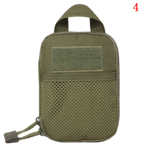 Outdoor Tactical Molle Medical First Aid Edc Pouch Phone Pocket Bag Organi LD
