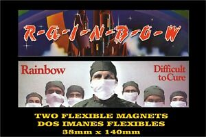 Rainbow-Ritchie-Blackmore-039-s-Difficult-to-Cure-2-IMANES-2-MAGNETS