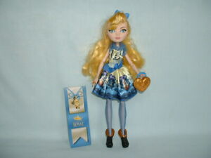 Ever After High Blondie Lockes Action Figure Jouet Poupée Avec Livre (mattel/vêtements)-s) Fr-fr Afficher Le Titre D'origine