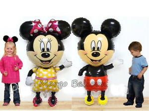 Jumbo-Taille-110-68cm-Mickey-Minnie-Mouse-Ballon-Enfant-Fete-D-039-anniversaire-Celebration