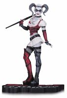 Dc Collectibles Harley Quinn Arkham Asylum Statue, Red/white/black on sale