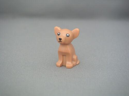 New Medium Dark Flesh chihuahua REF 12888pb01 Lego Animaux Chihuahua Neuf