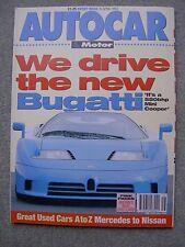 Autocar (15 April 1992) Bugatti EB110, Safrane, Colt 1.8 GTi, Golf, Porsche 928