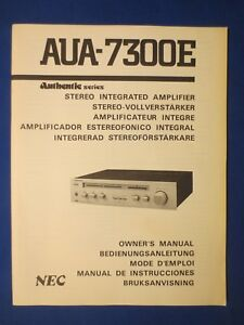nec aua 7300e authentic int amp owners manual factory original the rh ebay ie neck owner's manual nec dterm 80 owners manual