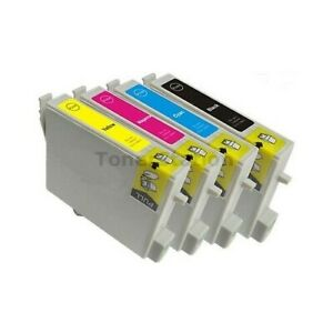 4x-Ink-Cartridge-Compatible-with-epson-Photo-R250-RX430-RX530