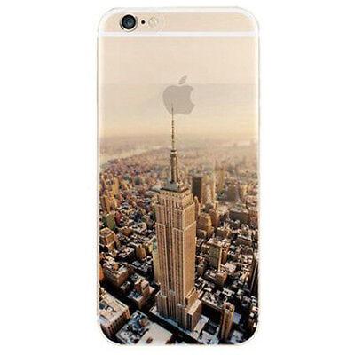Schutzhülle Iphone 6 6s Silikon Hülle durchsichtig Handyhülle mit Muster Motiv